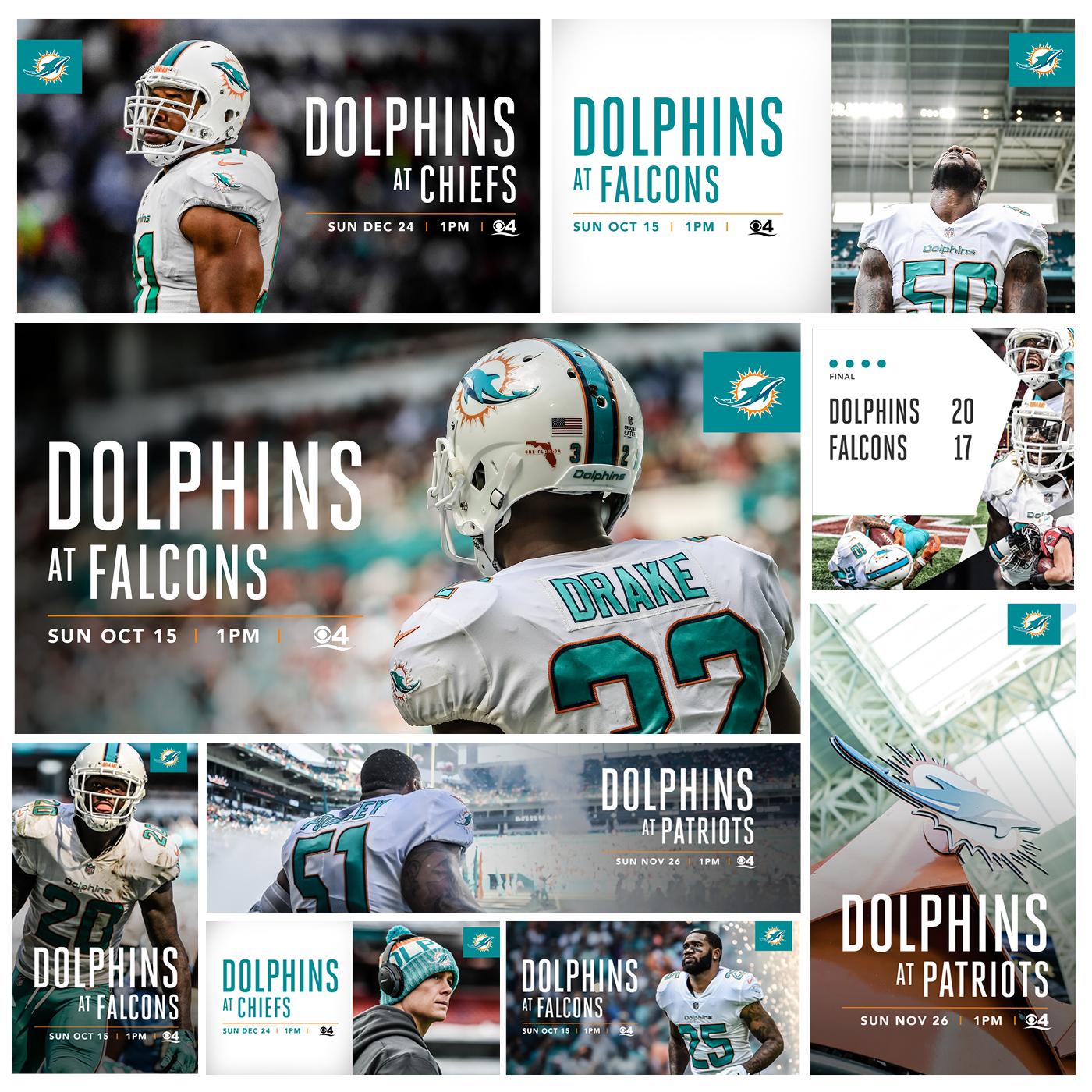 536f1085 2017 Miami Dolphins Creative on Behance