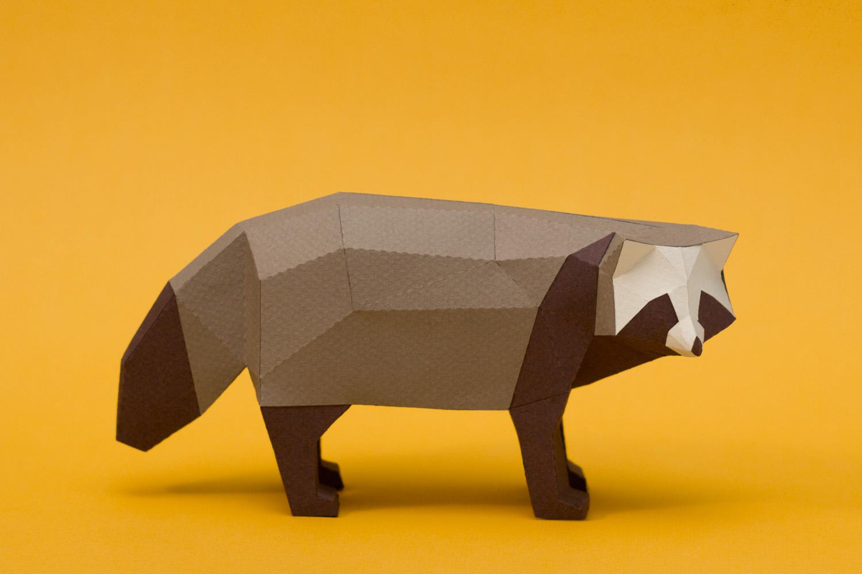 Как сделать из бумаги голову у животных