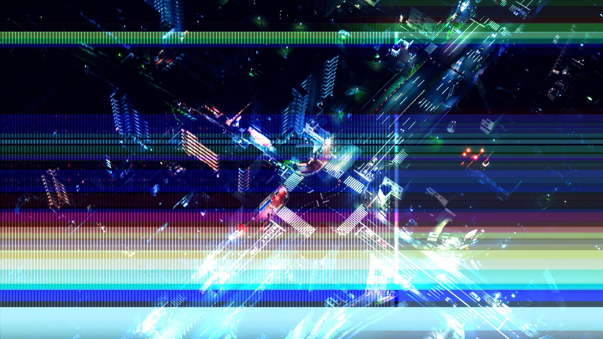 Glitch Transitions 4K on Behance