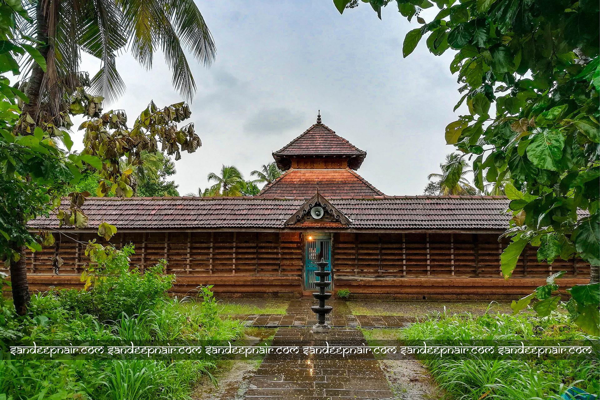 The Mohini Temple in Kerala