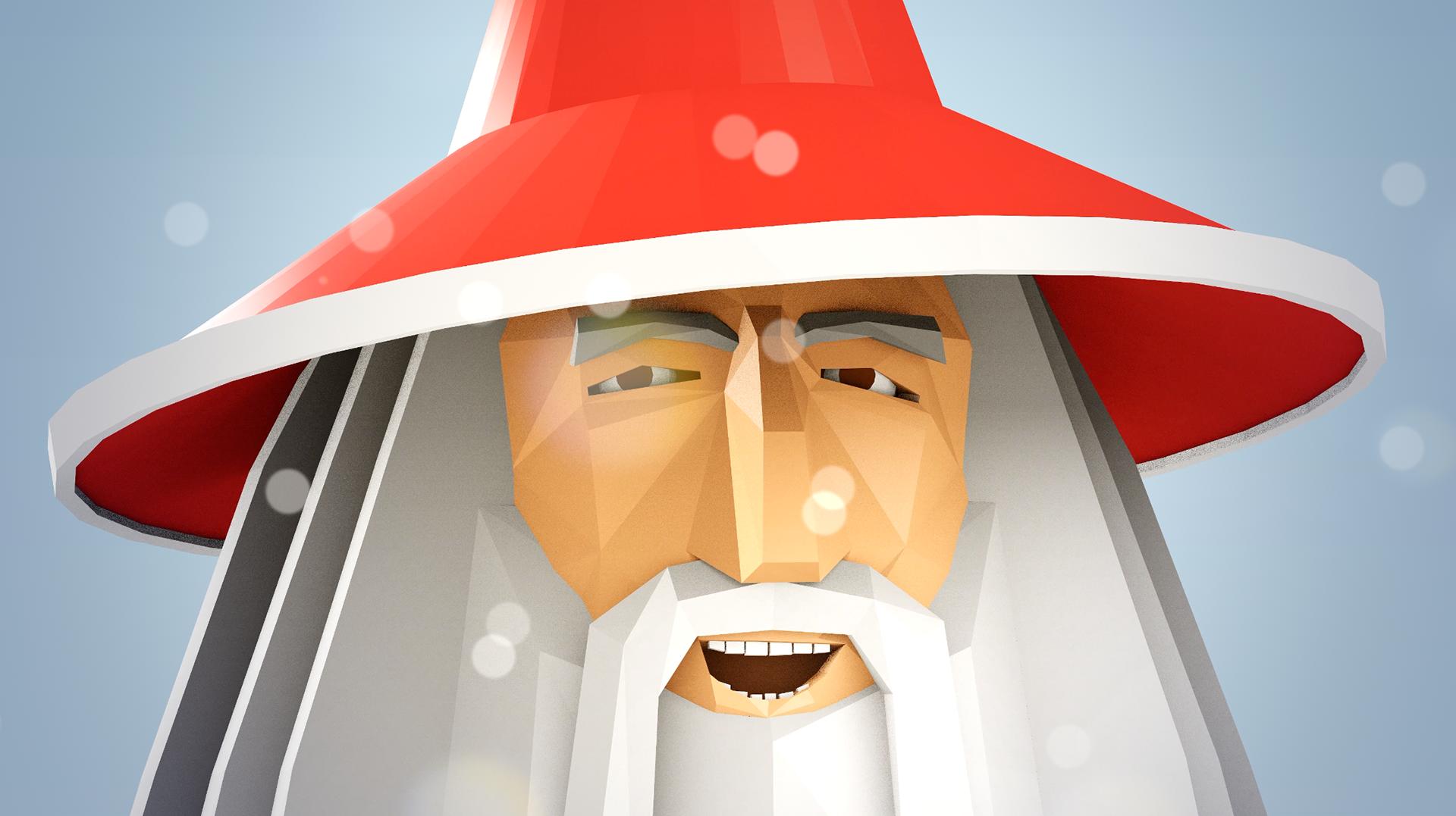 Santa Gandalf Epic Xmas on Behance