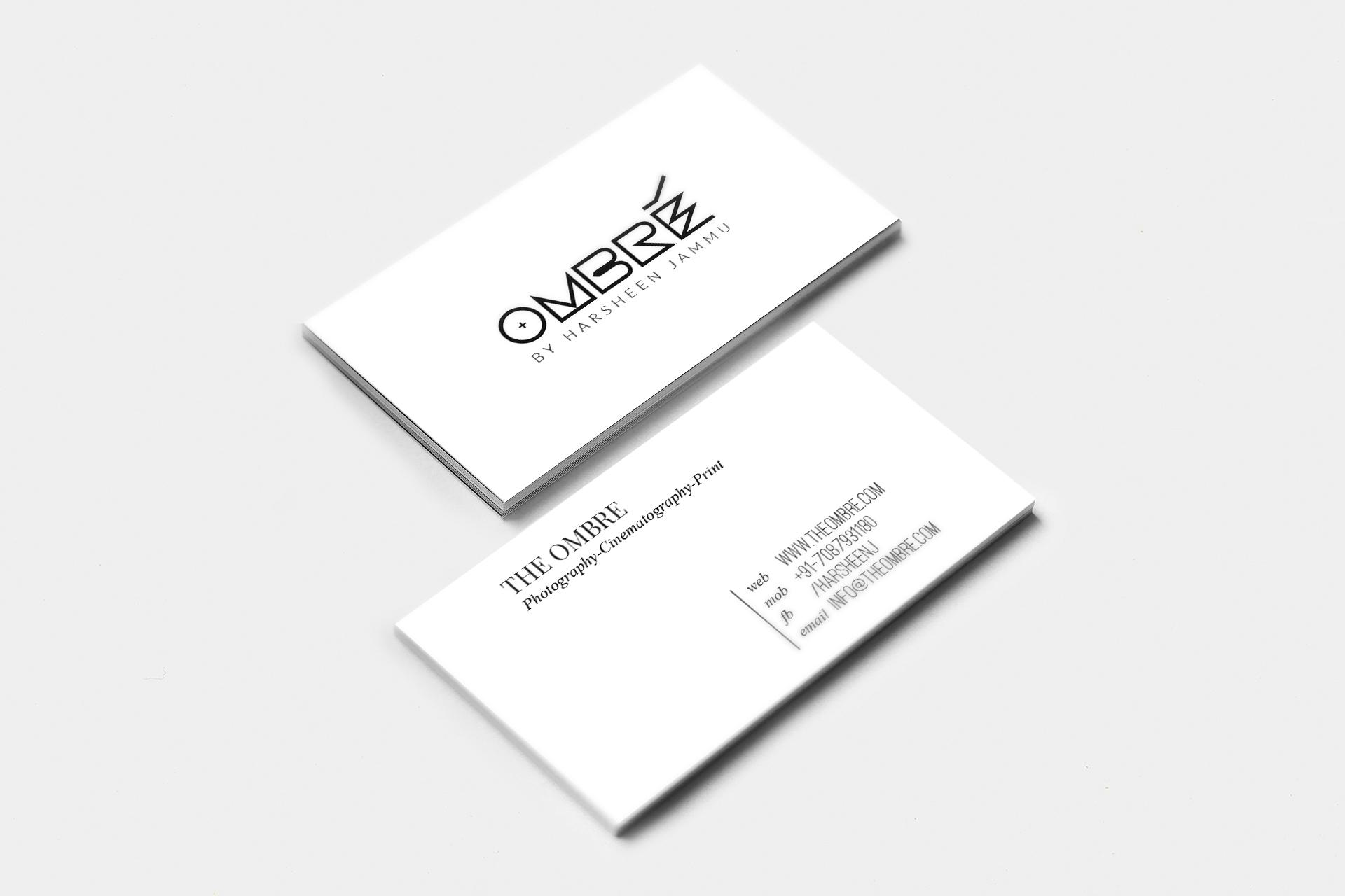 branding the ombré on behance