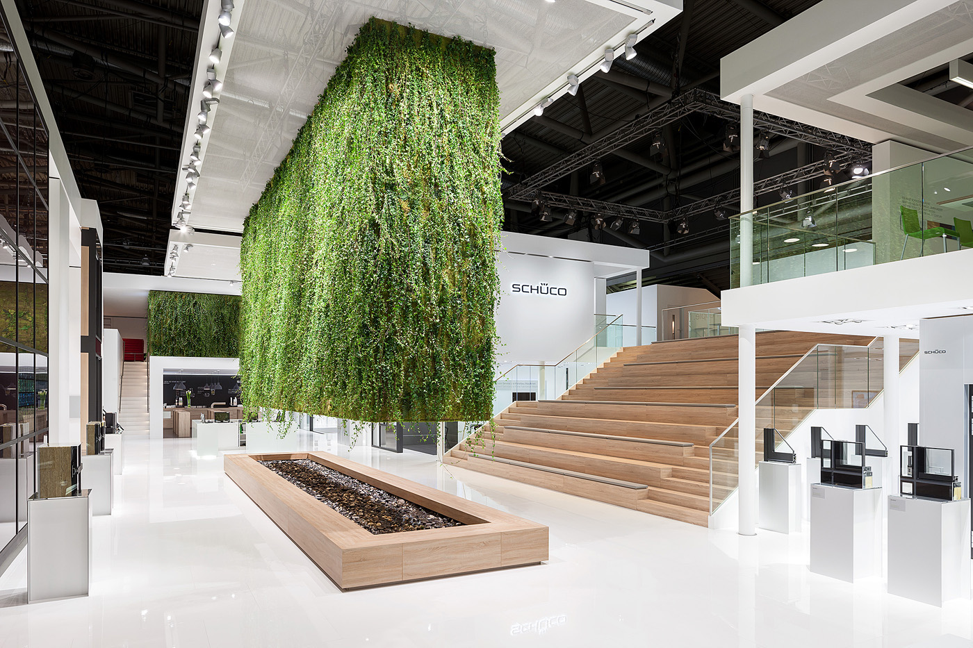 Exhibition Stand Nature : People nature technology schueco on behance