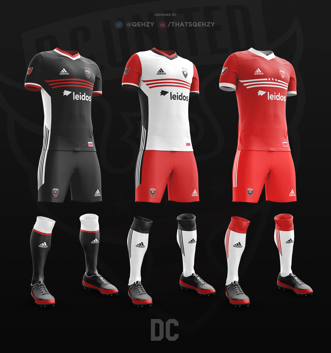 new style d4e38 06d2d MLS Kits Redesigned (2017) on Behance