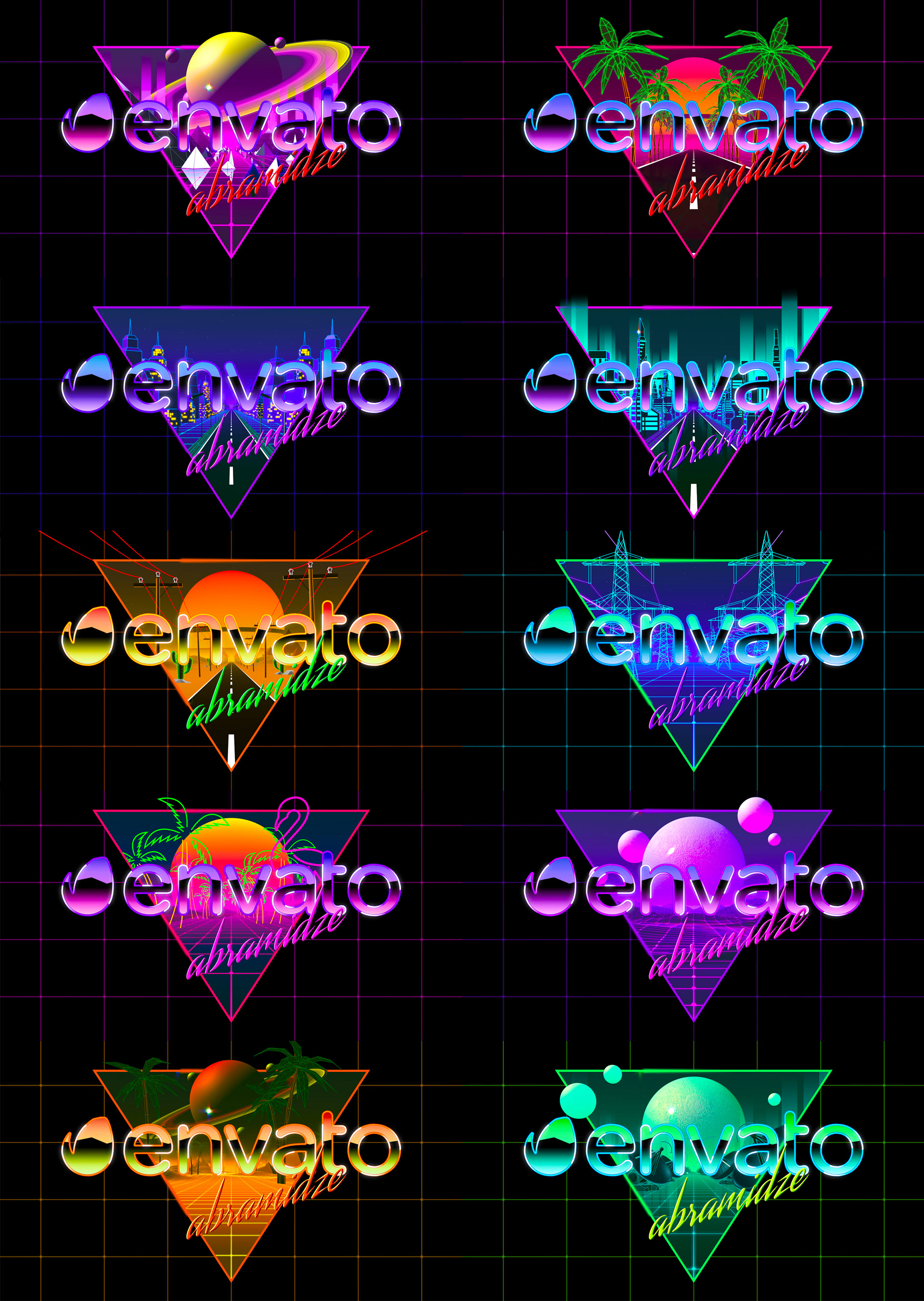 80's Retro Logo Reveal Pack vol.1 - 1