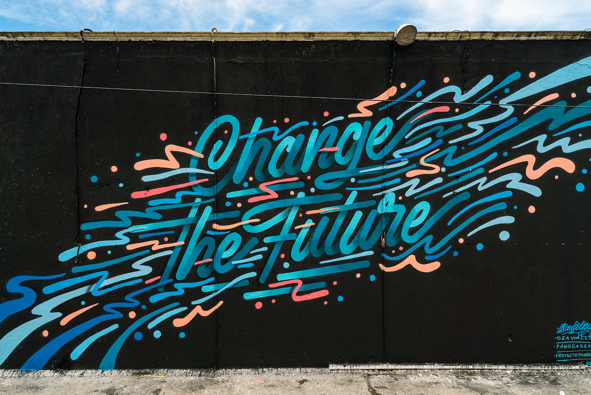 Street Art & Illustration: Seawalls Mural