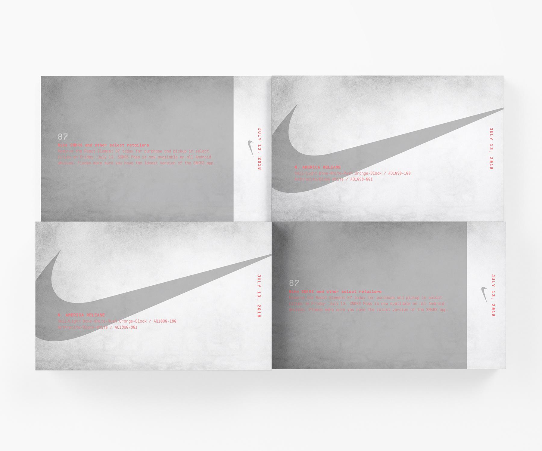 Nike React Element 87 on Behance