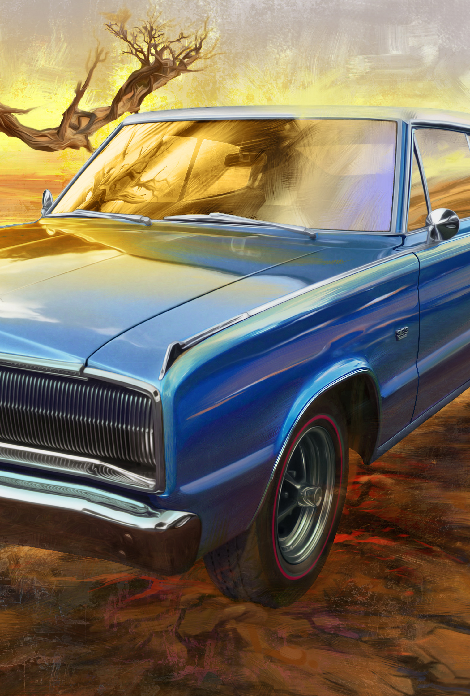 Garth Glazier - American Muscle Car Paintings