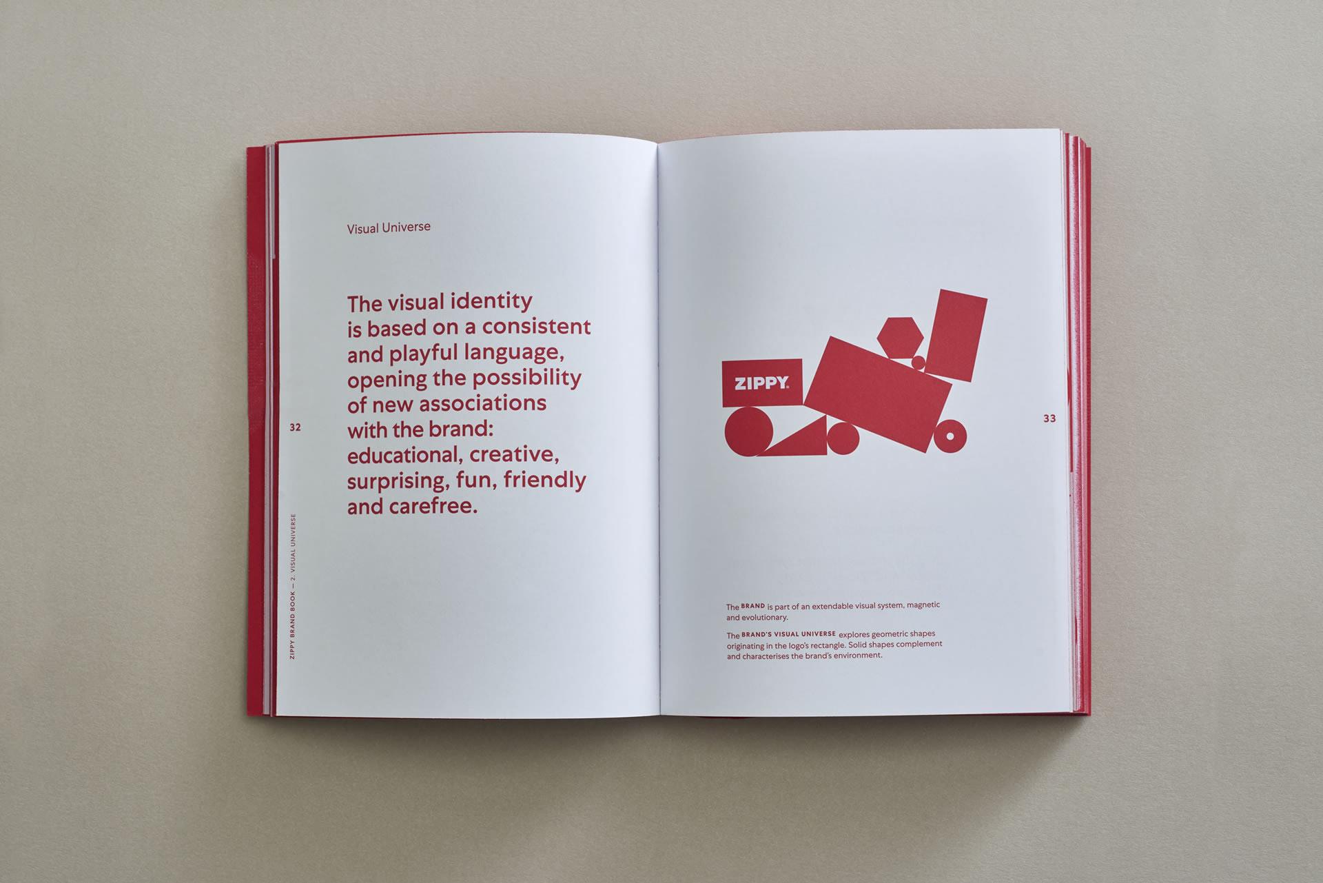 Zippy Brand Book on Behance