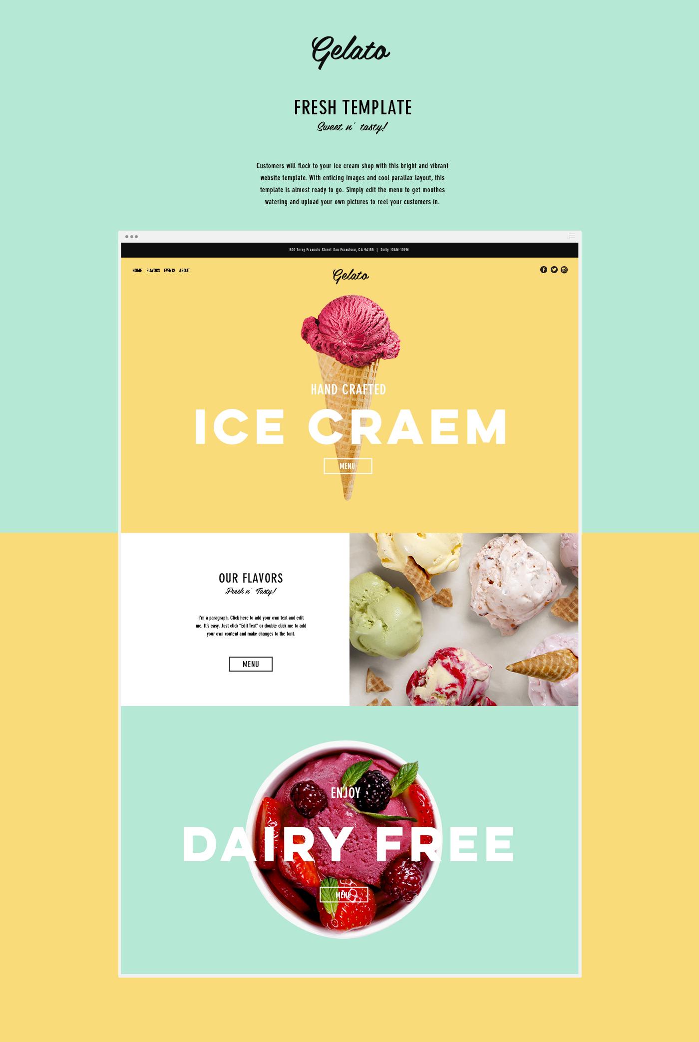 togo menu templates