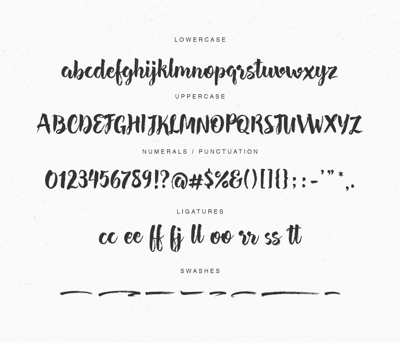 brush script font