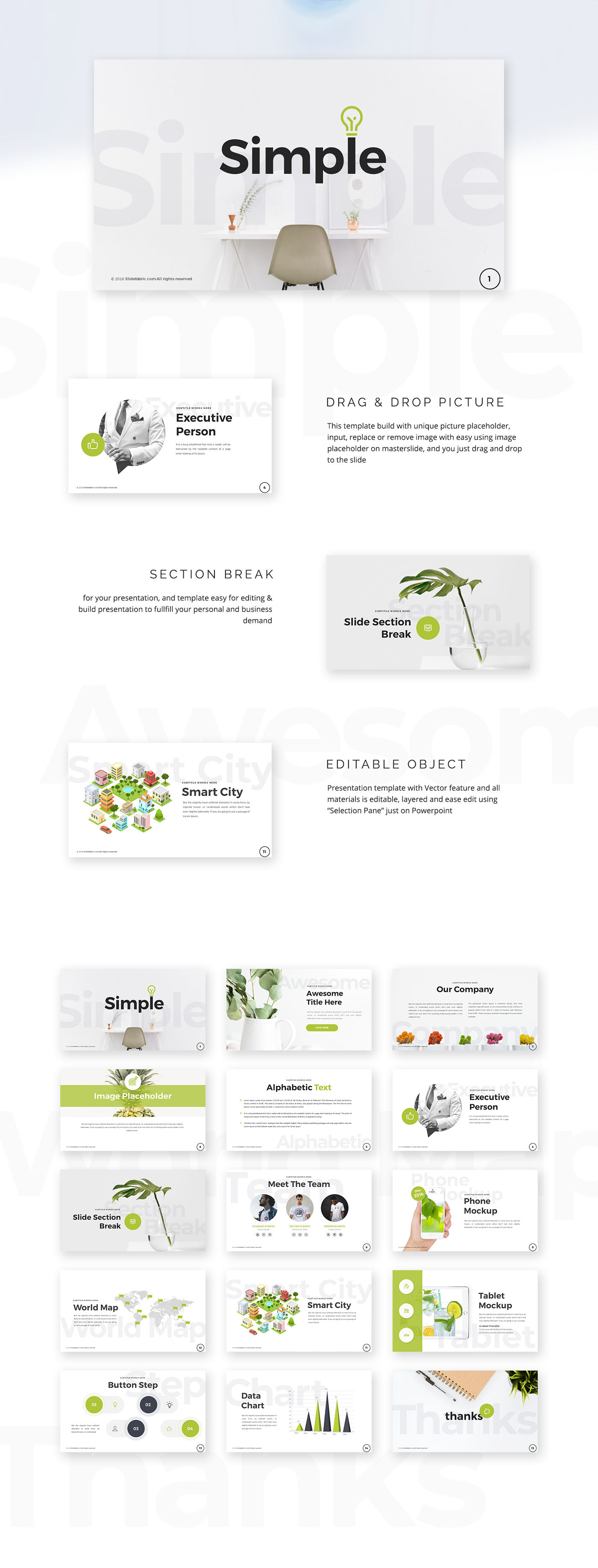 simple free powerpoint templates