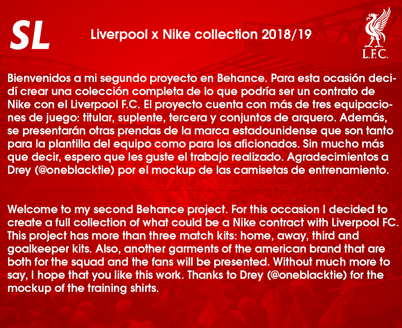 0f9e7c82664 Liverpool x Nike collection 2018 19 on Behance