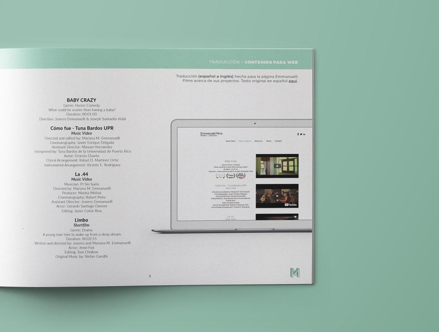 MELISSA MERCADO (branding + portfolio design) on Behance