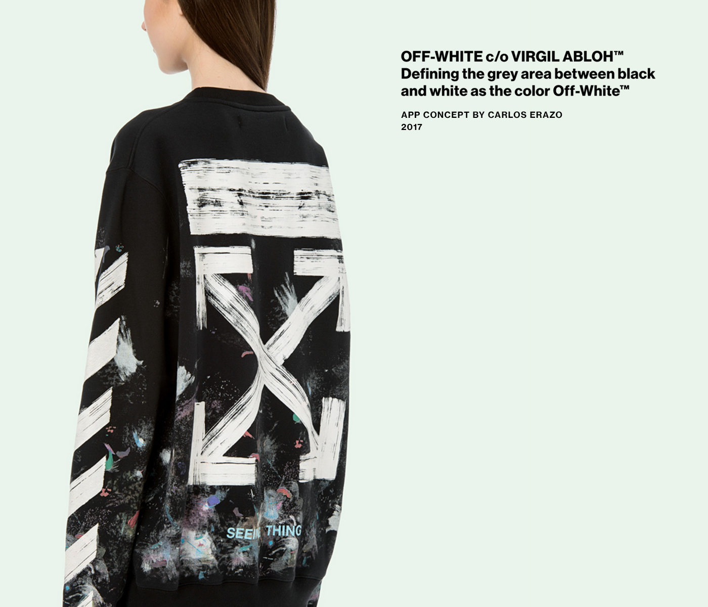 off white c o virgil abloh app concept on behance