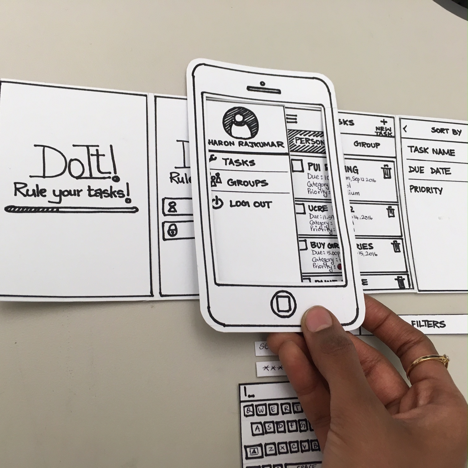 Power Paper Prototyping on Behance