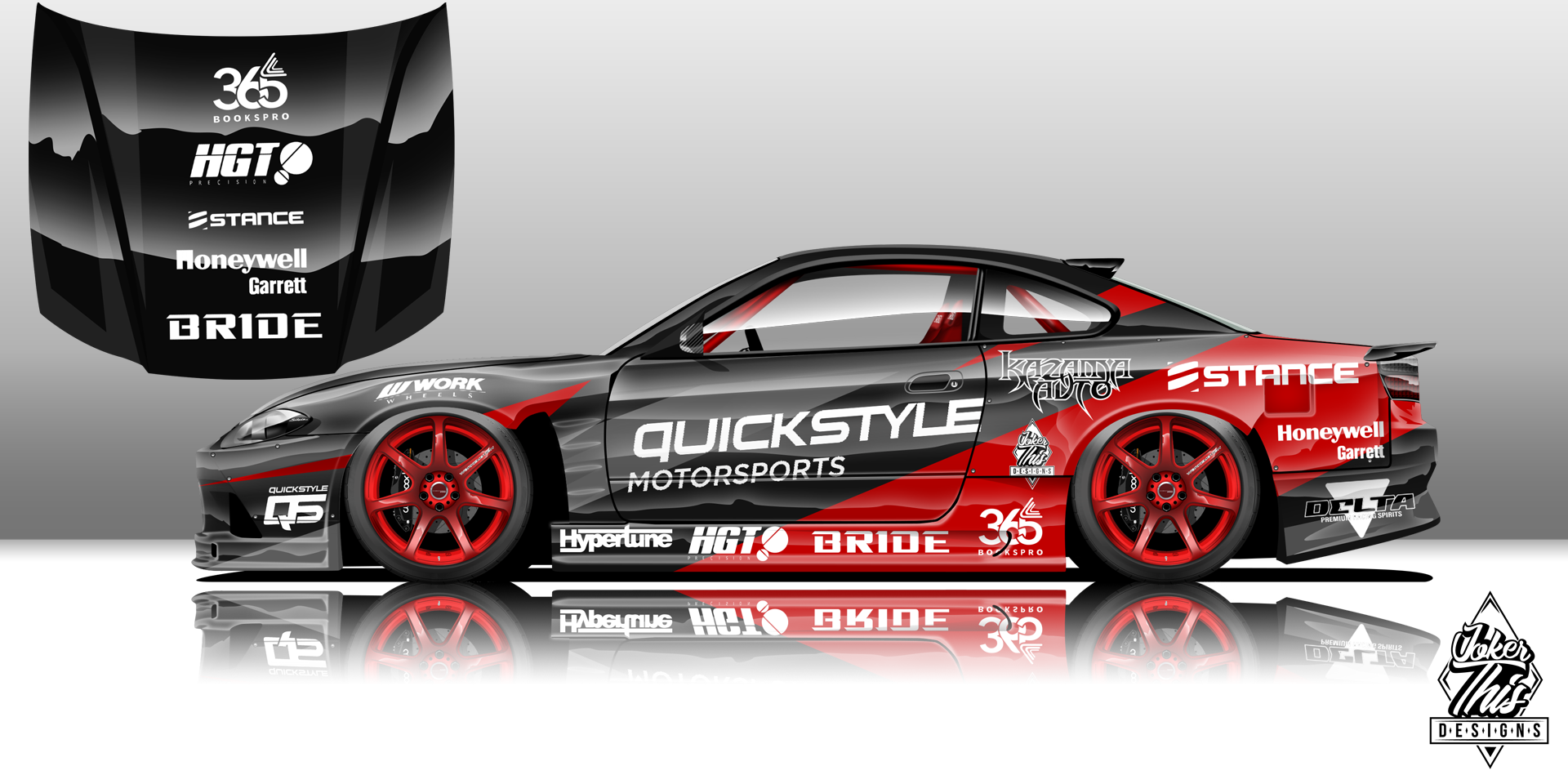 Quickstyle Motorsports Nissan S15 Livery Project On Behance