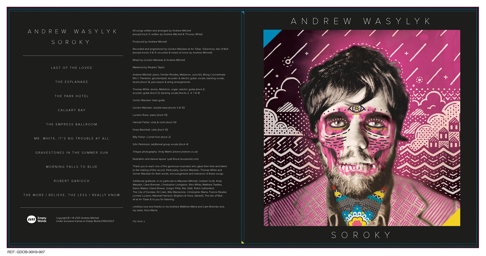 Soroky Album Cover Spread