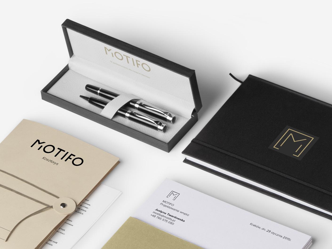 MOTIFO Interior Design Architect Branding Website on Behance