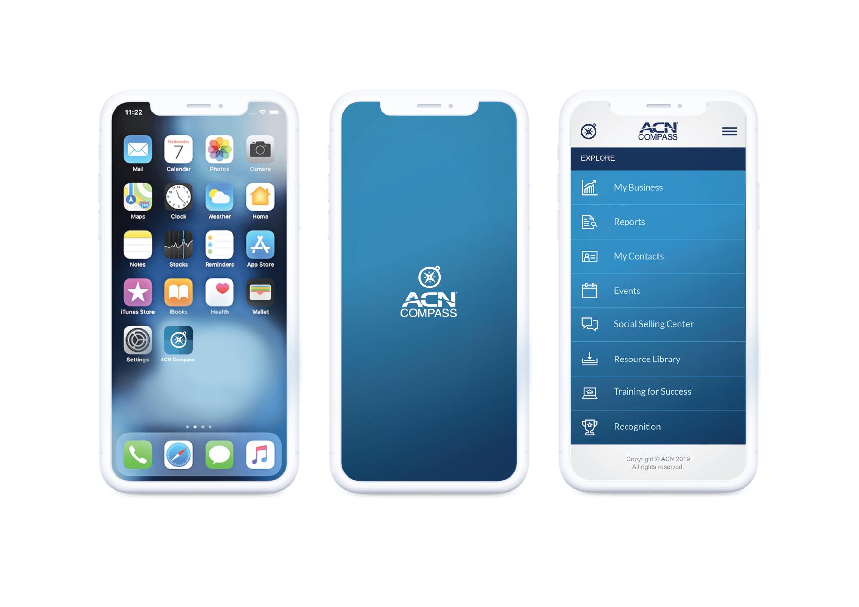 ACN Compass App on Behance