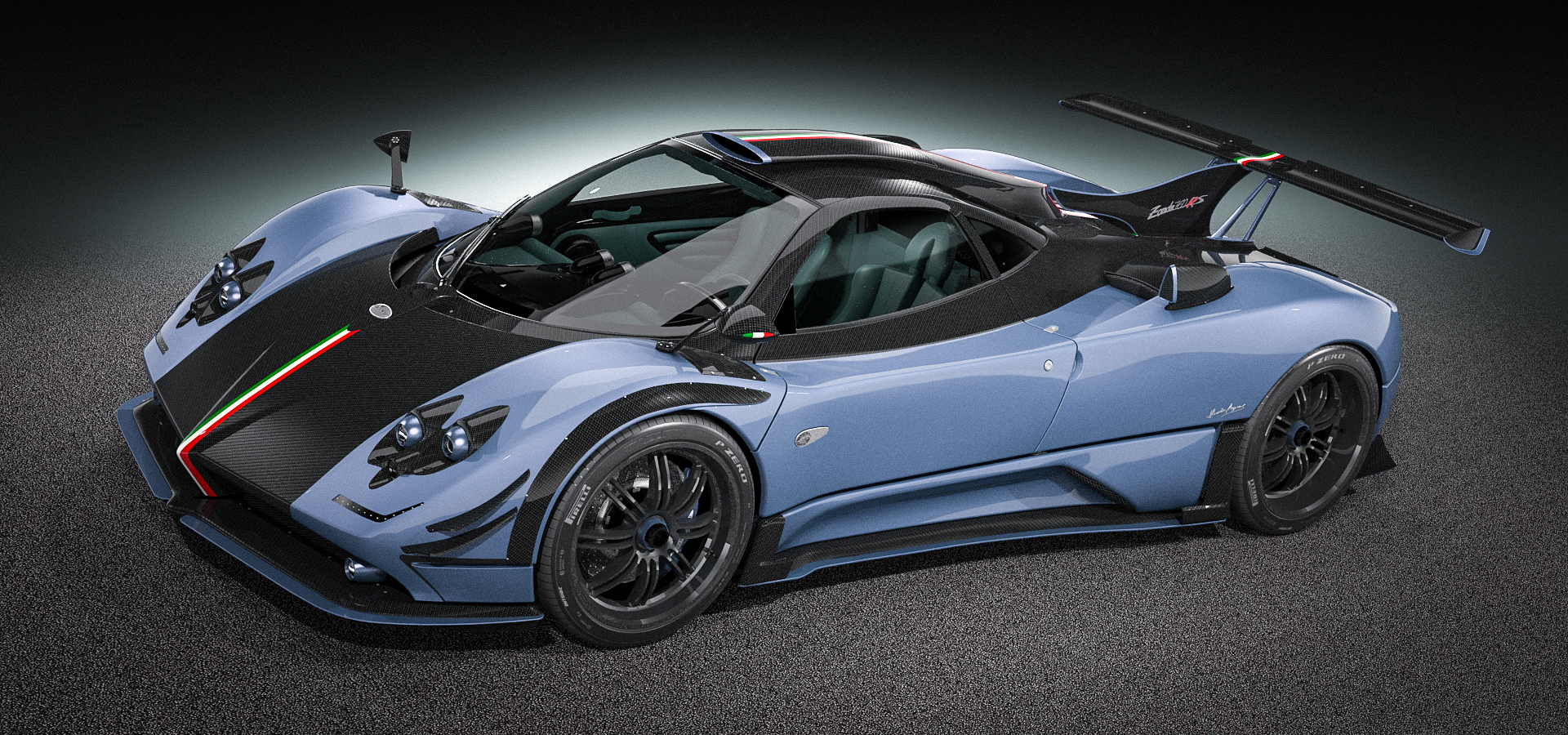 zonda 760 rs on behance