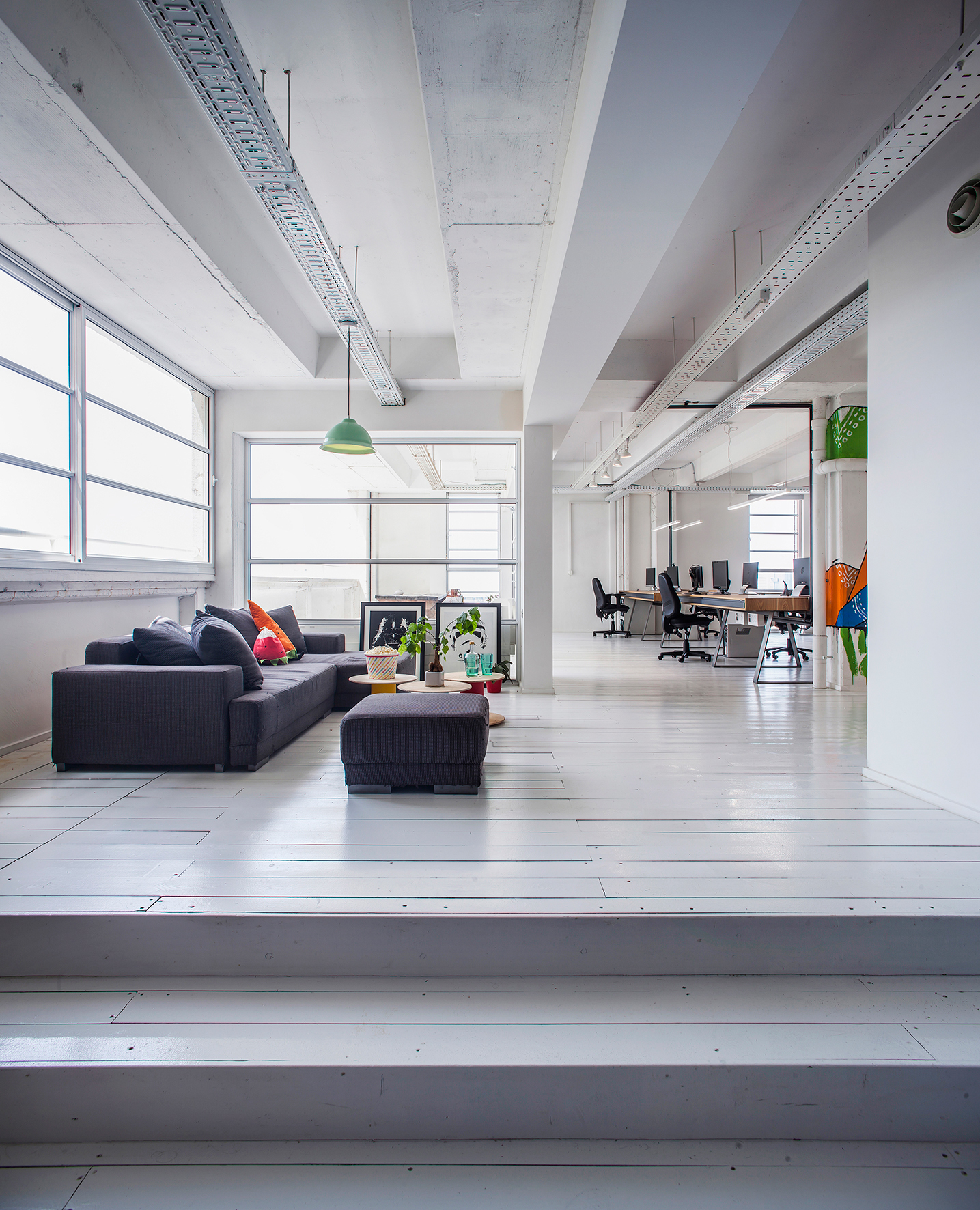 Google office tel aviv8 Campus Behance Jellybtn Offices On Behance