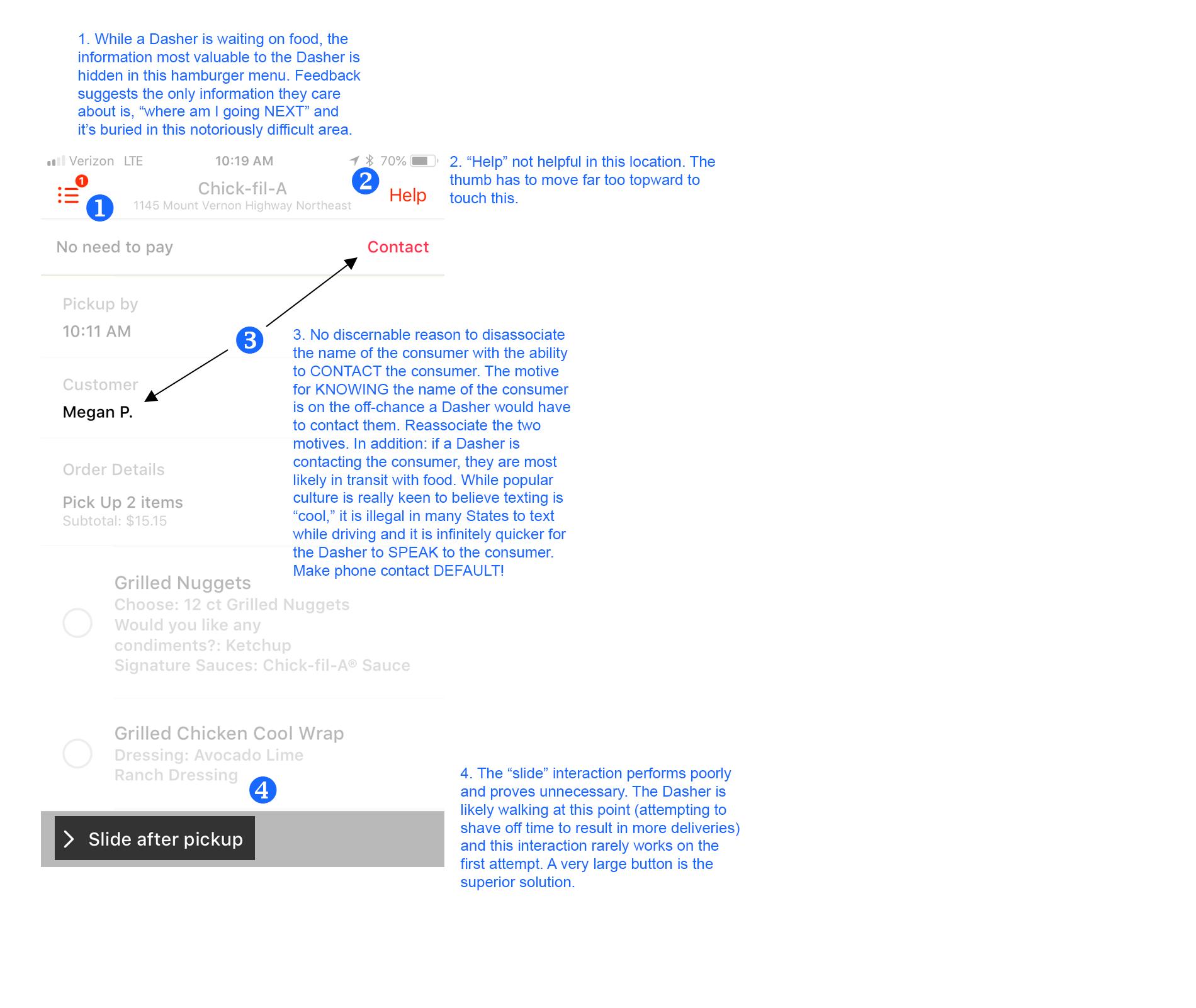 Case Study: Dasher App on Behance