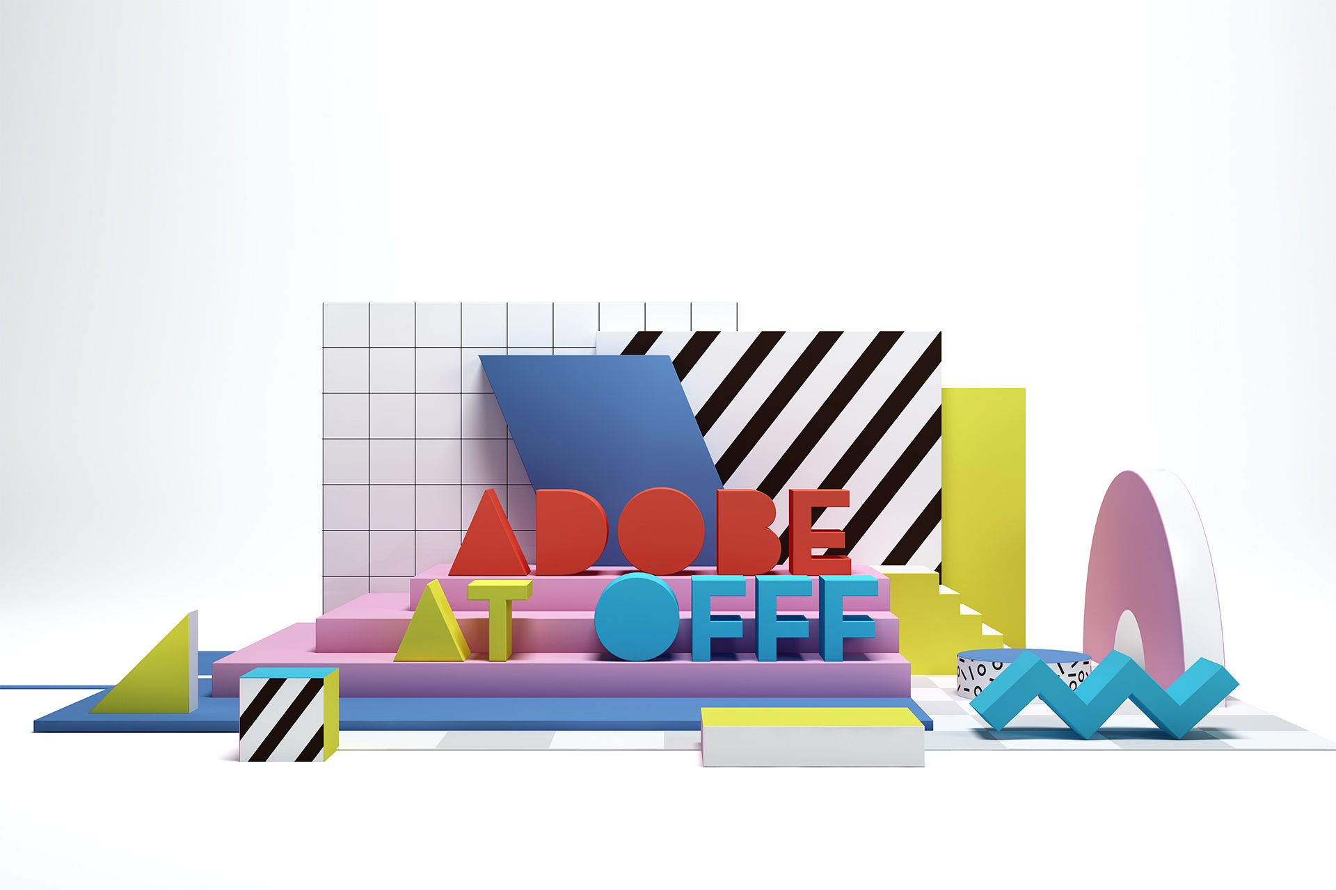 Set Design & Art Direction: Adobe at OFFF 2017