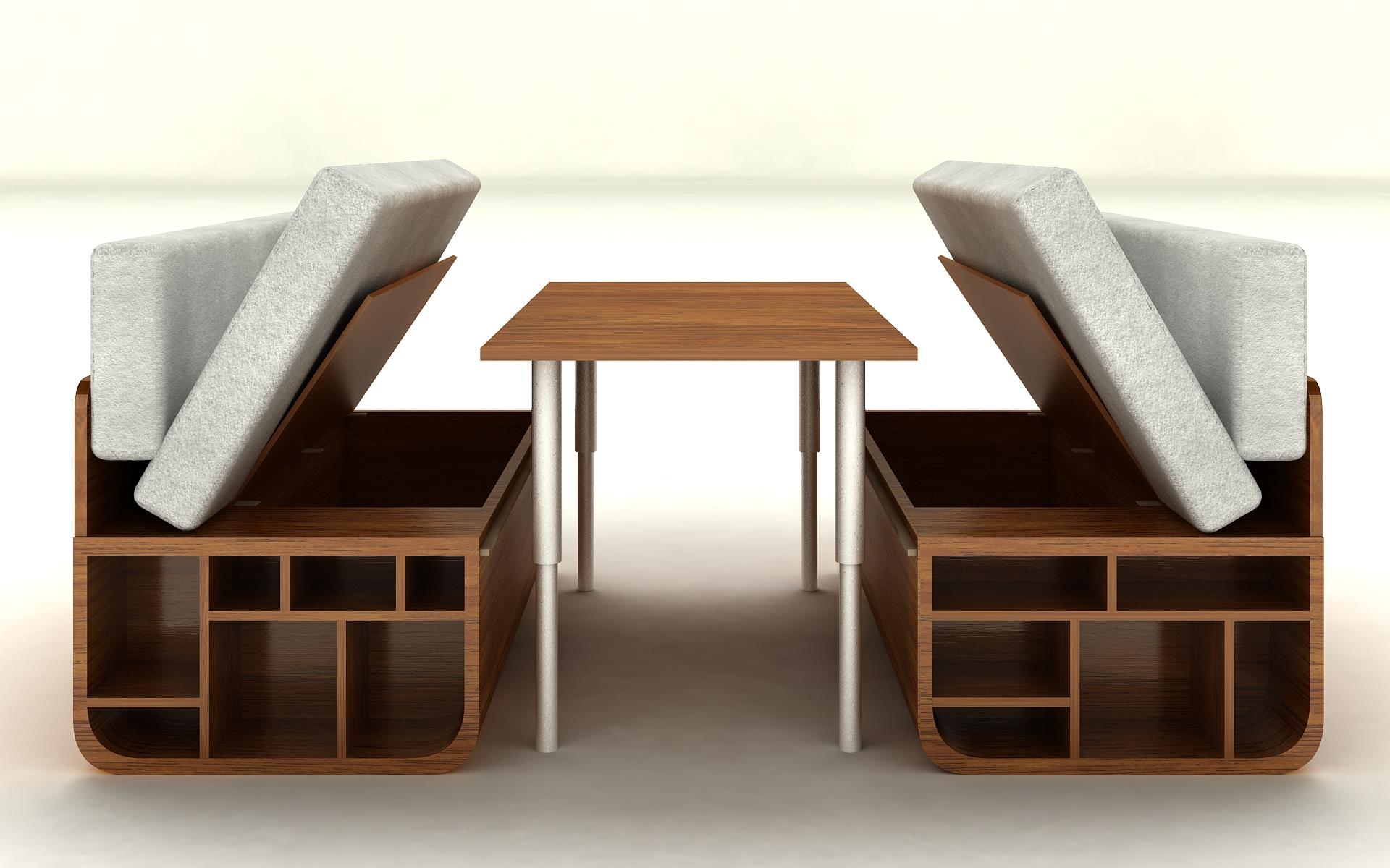 Combo - Multifunctional Furniture on Behance