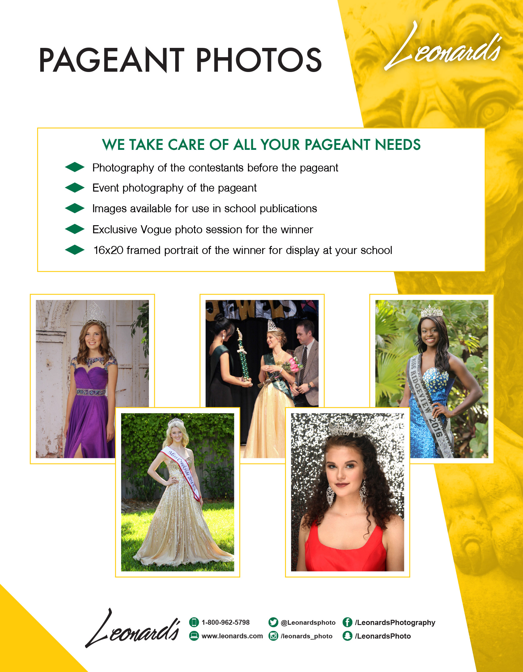 Leonards Photography Marketing Forms 2018 Series On Behance