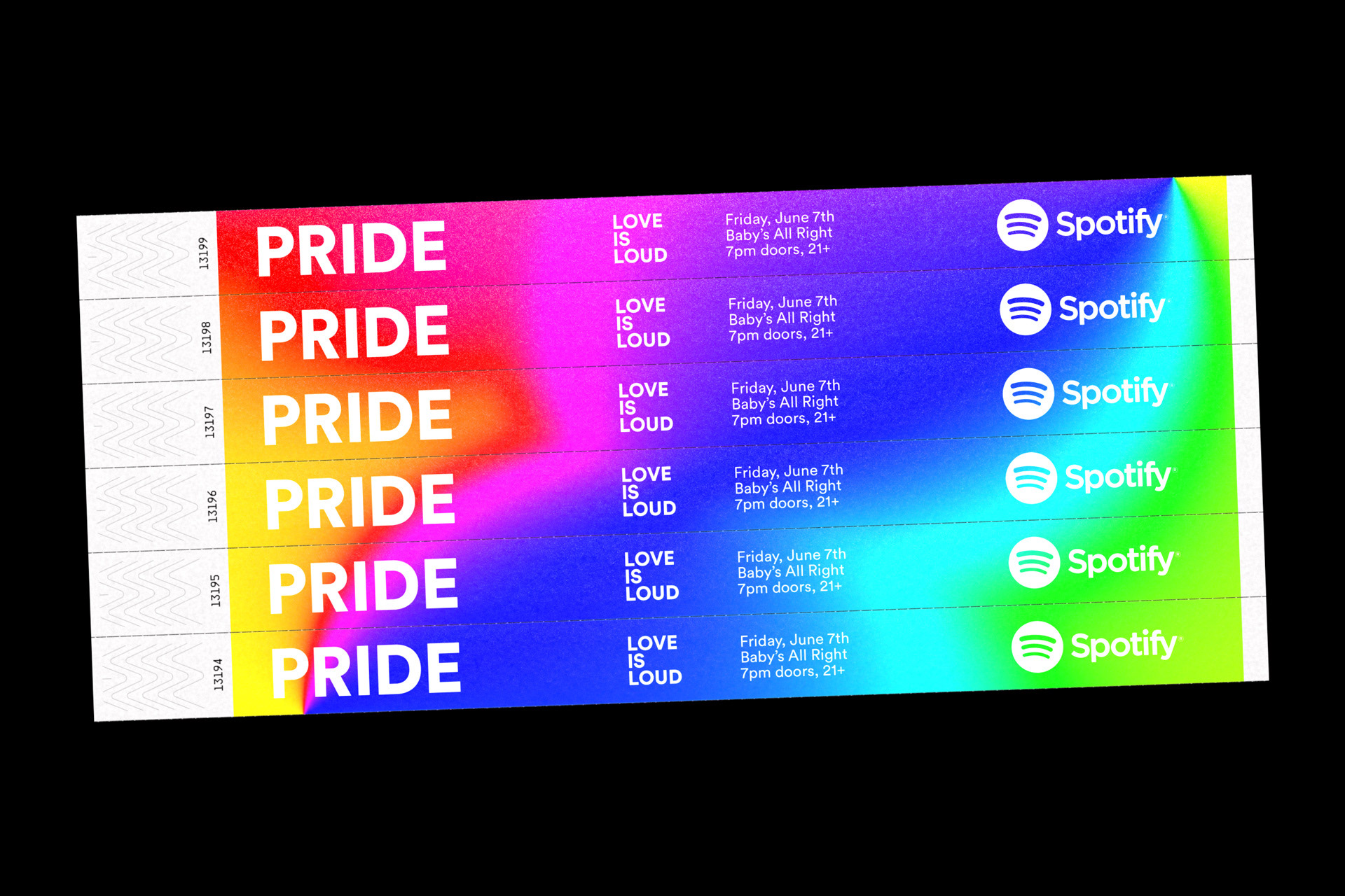 Spotify Pride Month - Global Campaign