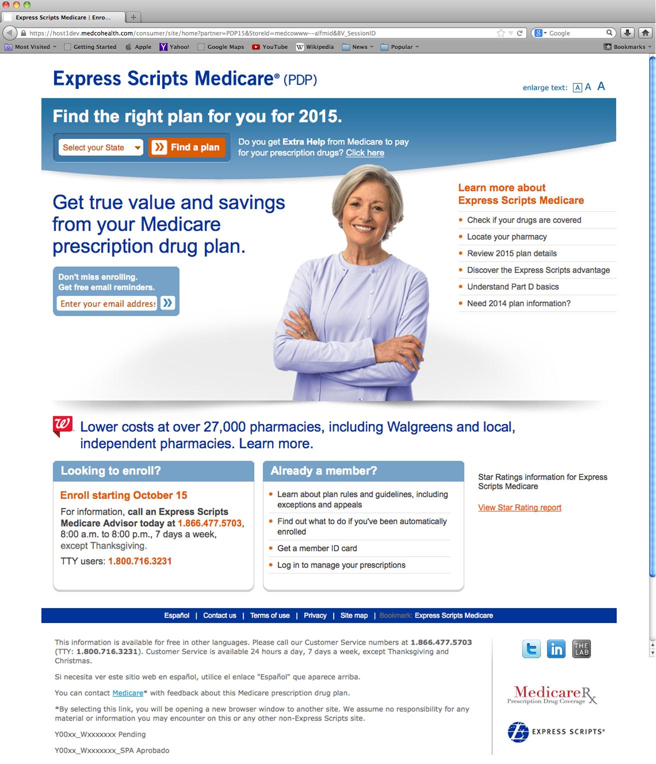 Medicare 2015 Open Enrollment on Behance