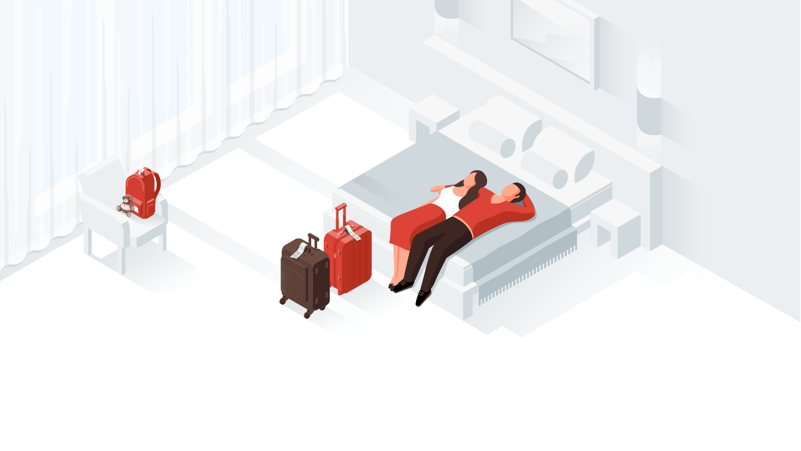Illustrations for Google Hotel Reviews