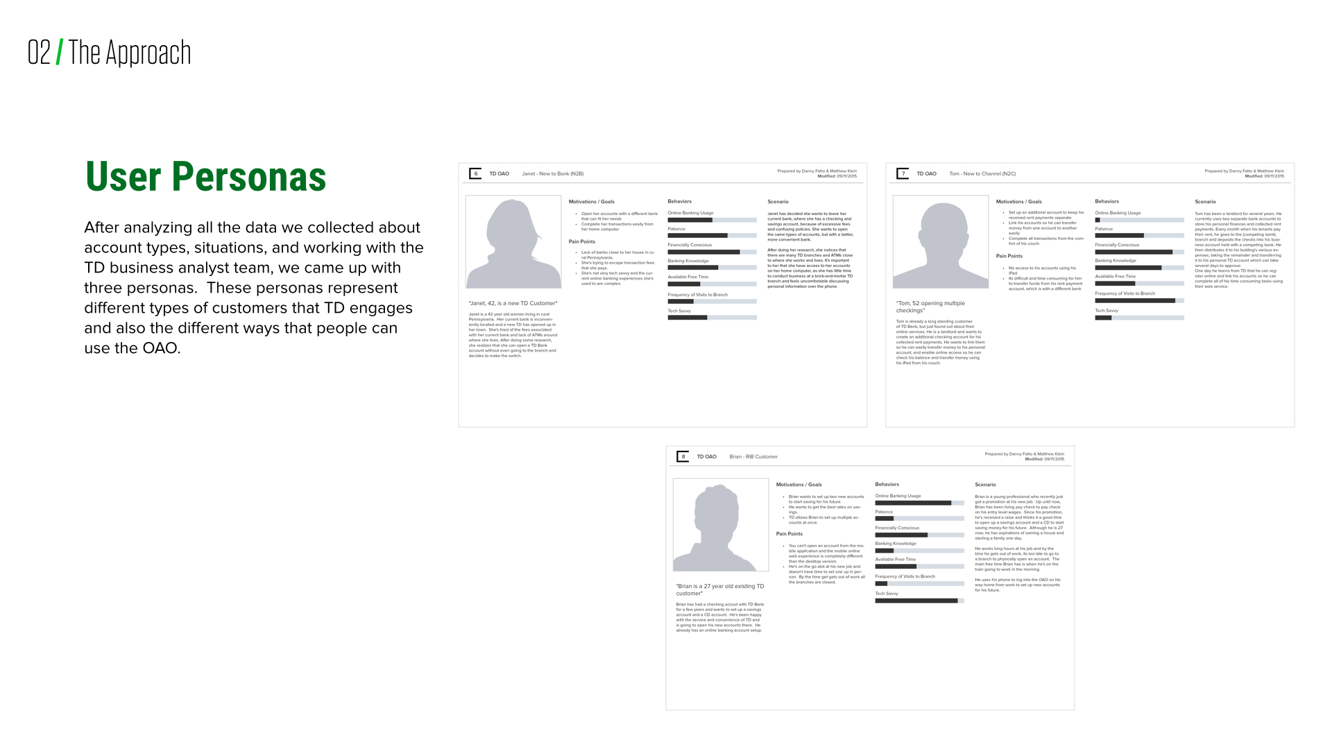 TD Bank line Account Opening on Behance