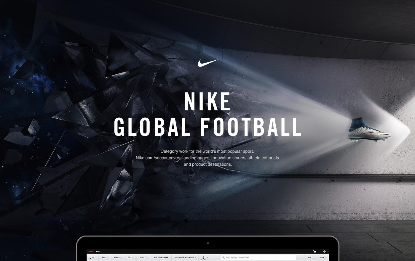 cortesía coreano tinta  Nike Global Football on Behance