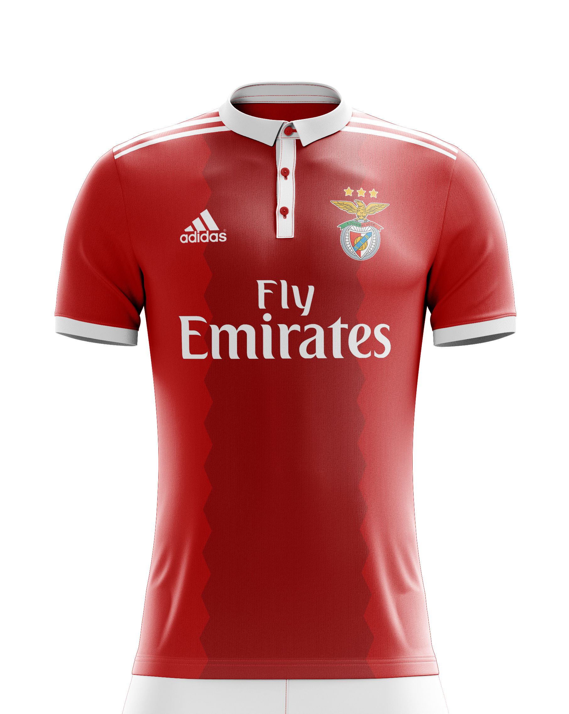 1451e4598 Yükle (1812x2275)5 fashionable football tops that can be worn outside the  grounds - Fashion Norththe Benfica FC home kit is more polo based with the  collar ...