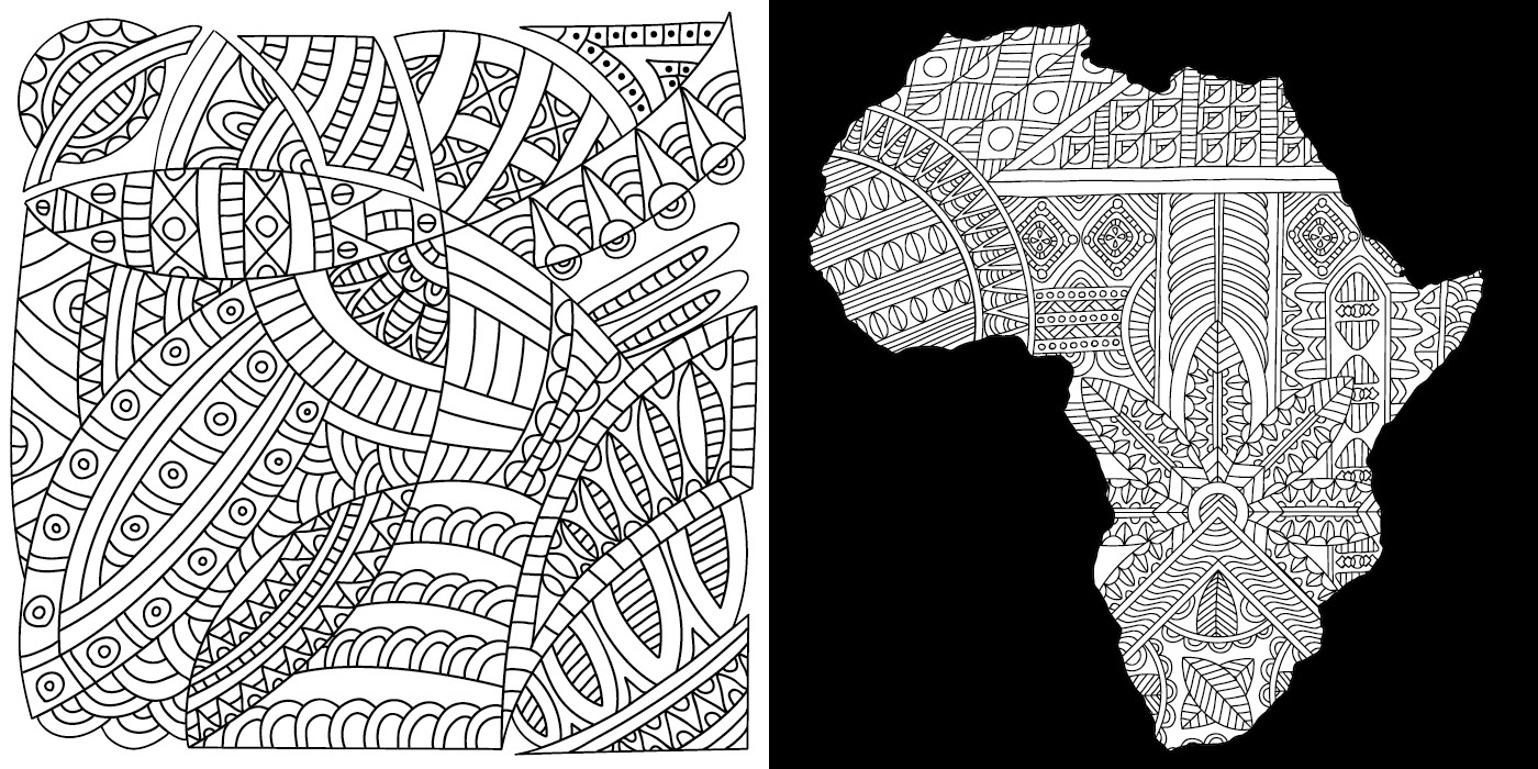 Tribal Patterns Coloring Pages On Behance