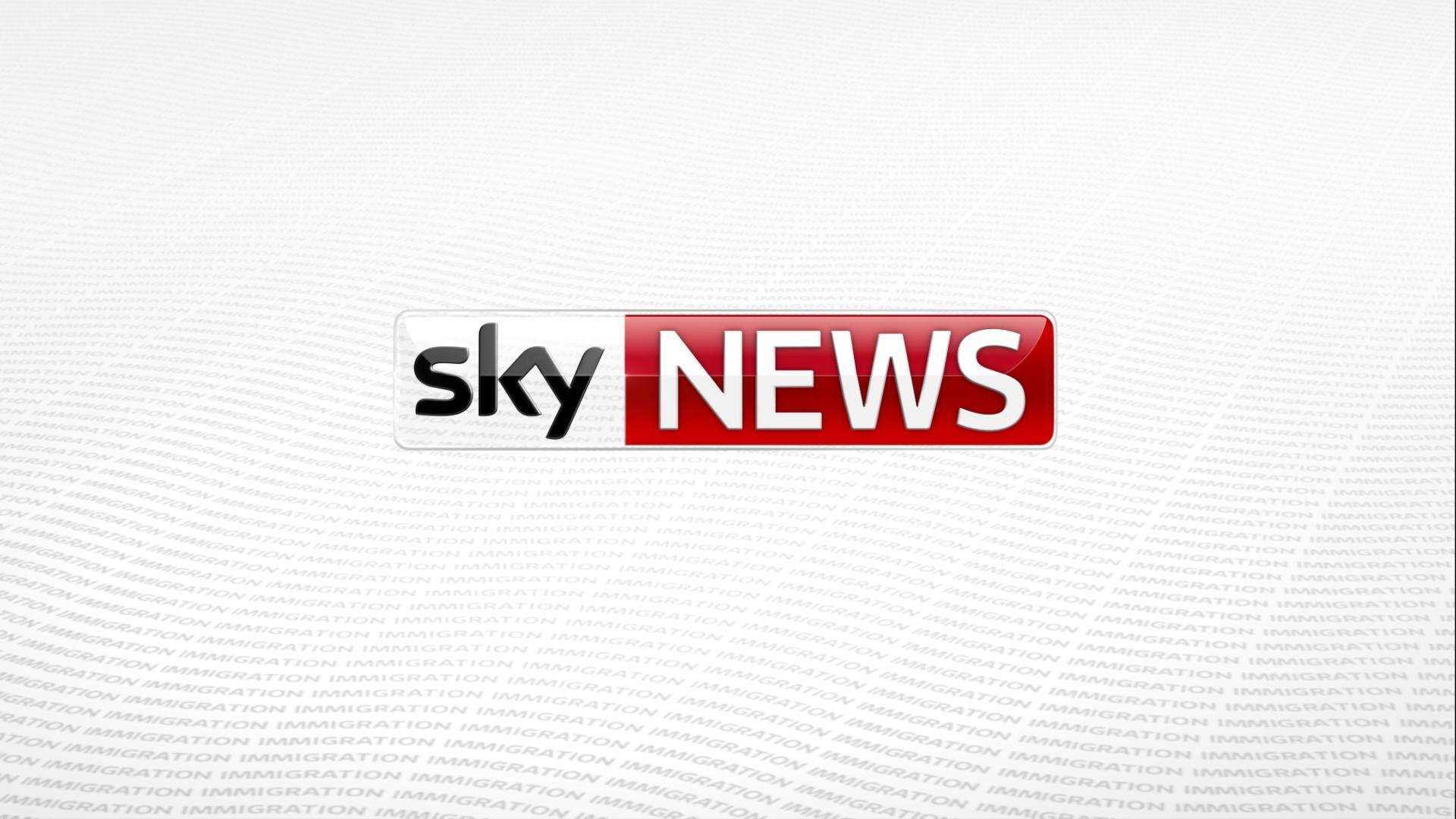 sky news logo refresh on behance