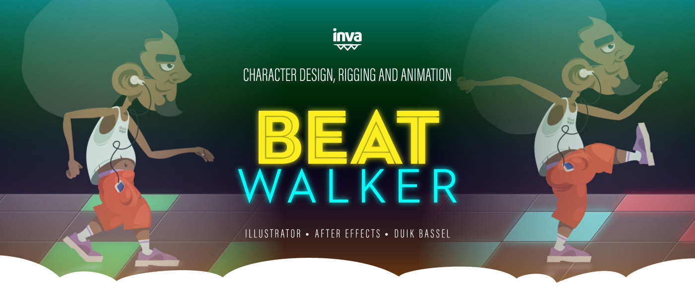 Beat Walker: Character Animation Study on Behance