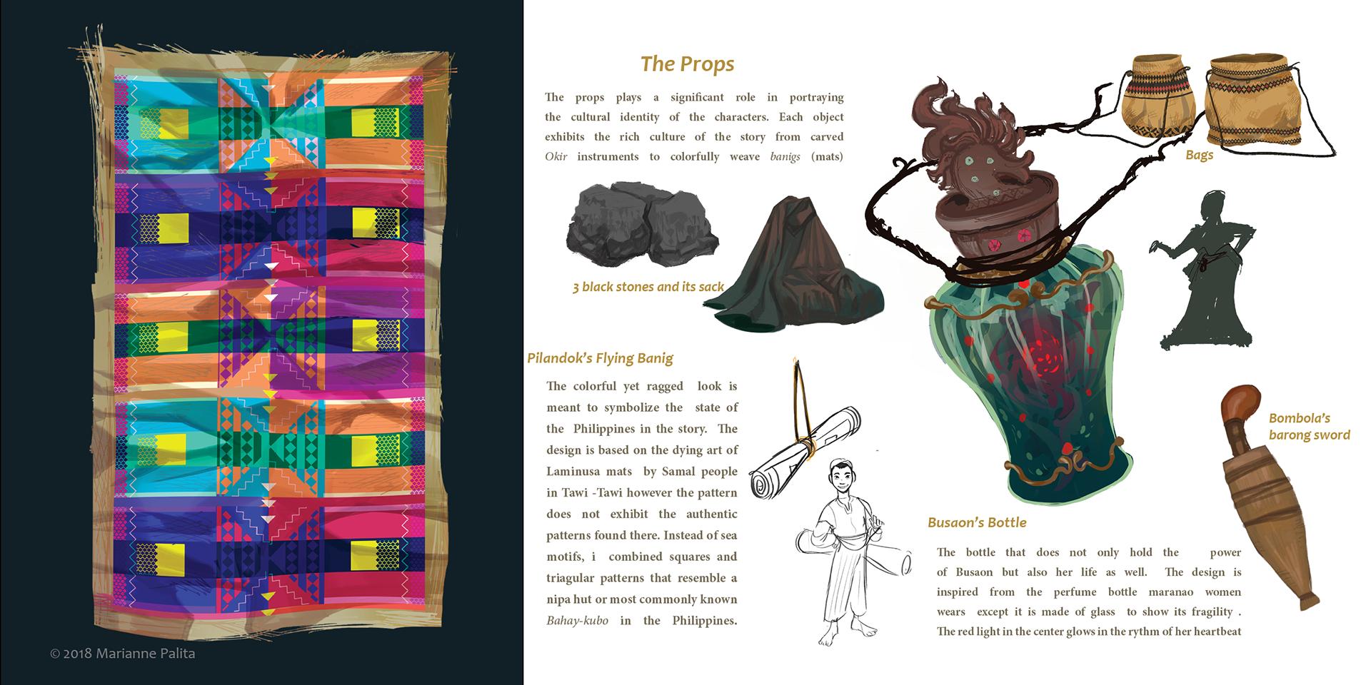 Production design Thesis: Mga kuwentong Maranao on Behance