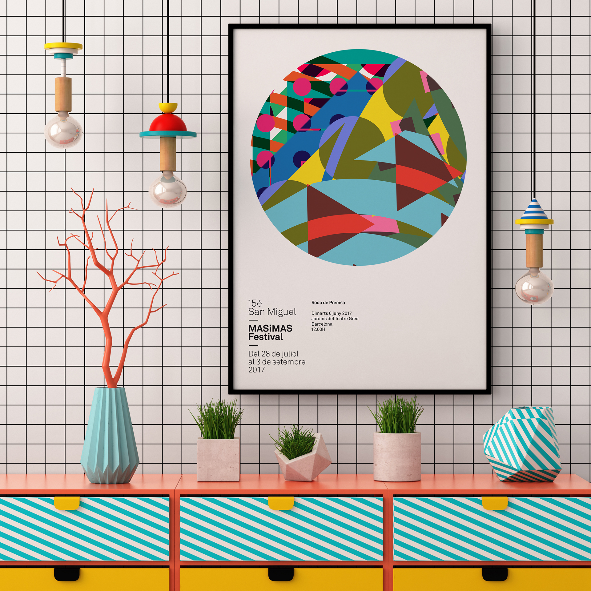 Graphic Design: a New Poster Collection Spring