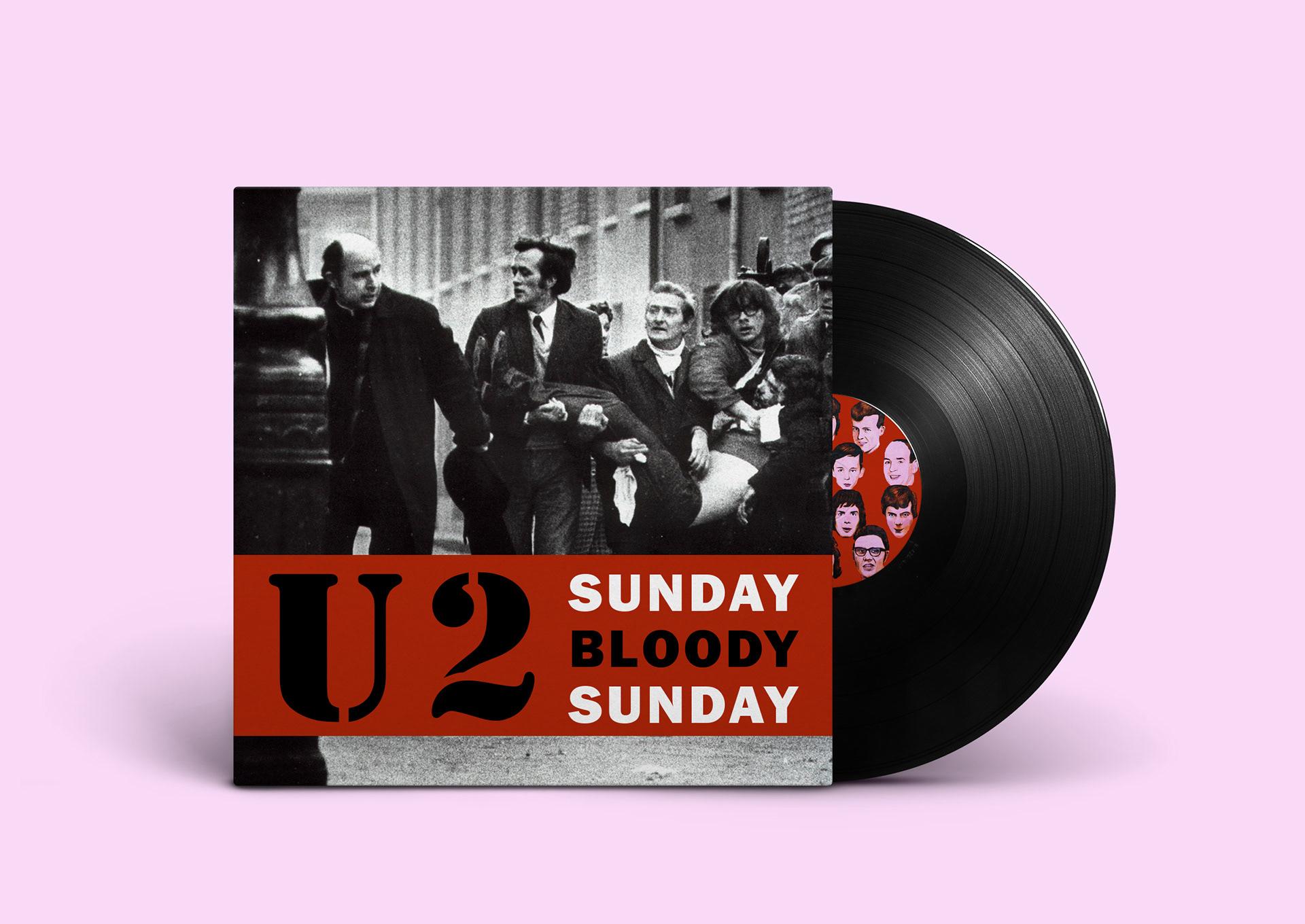 Sunday Bloody Sunday U2 On Behance