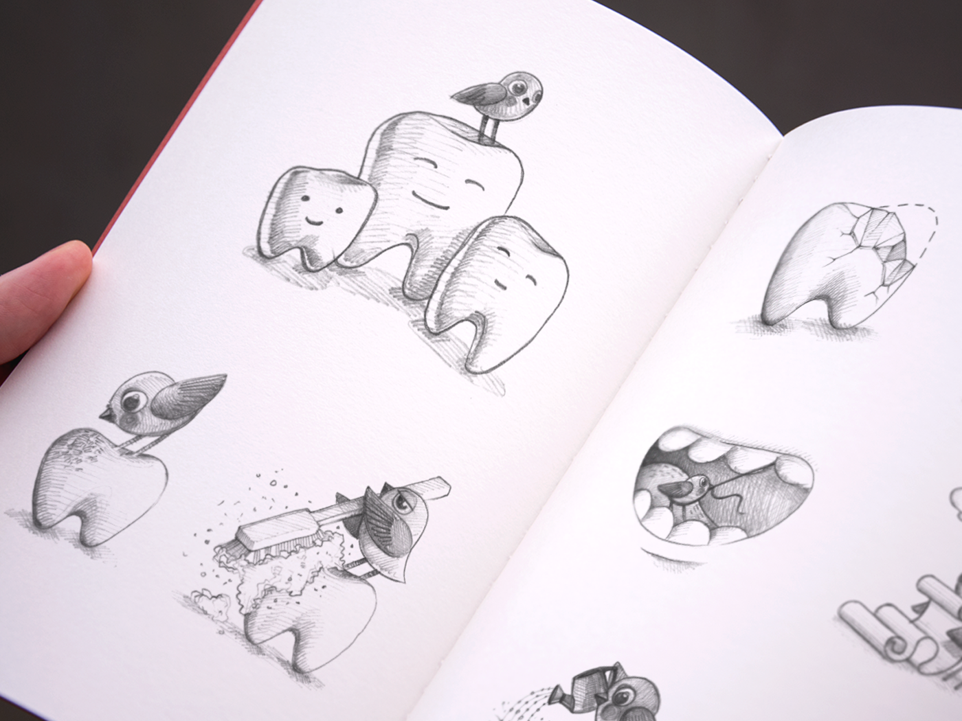 Logo sketches on behance