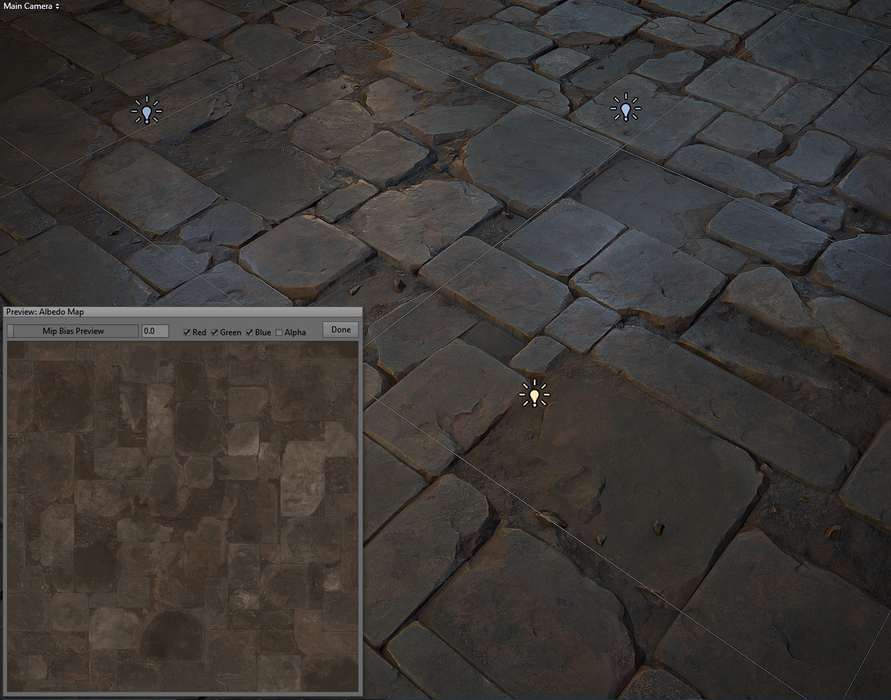 Stone floor tile 03 realtime on behance dailygadgetfo Images