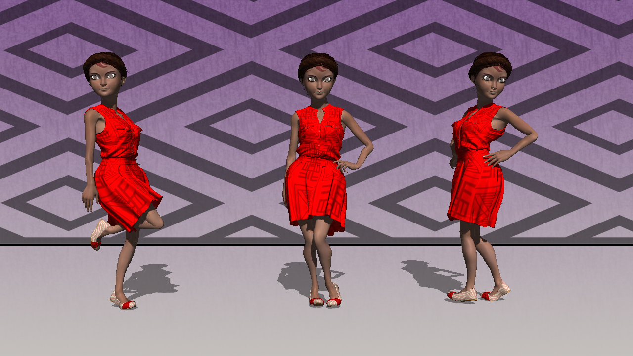 3D characters - Adobe Fuse & Photoshop CC on Behance