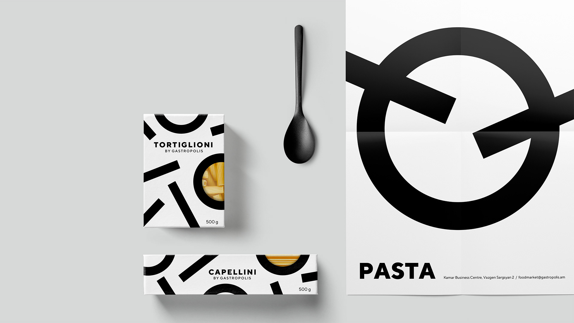 Gastropolis Food Market Branding By Formascope Design