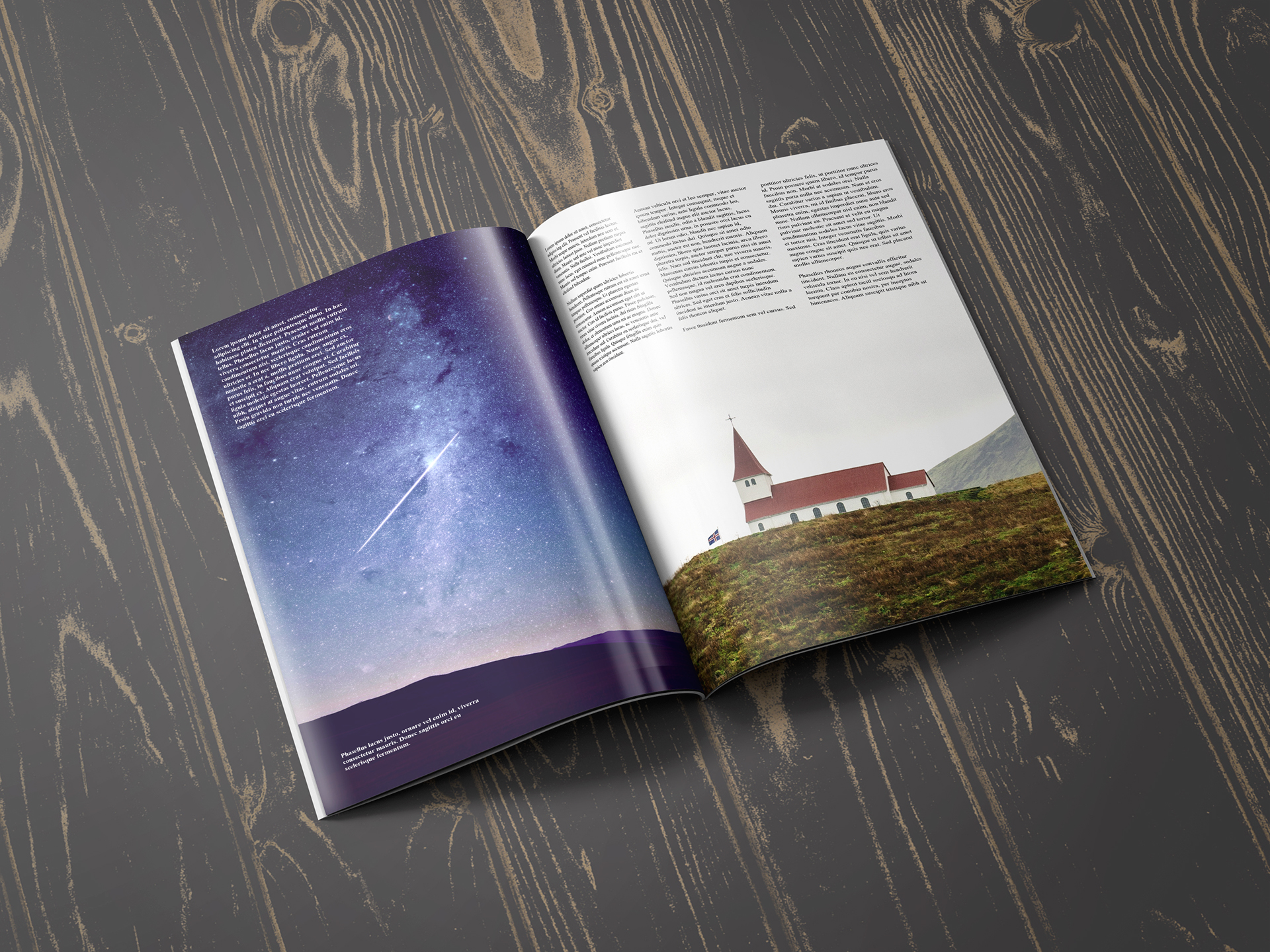 открытка сюрприз-поздравление мокап открытоко журнала находилась