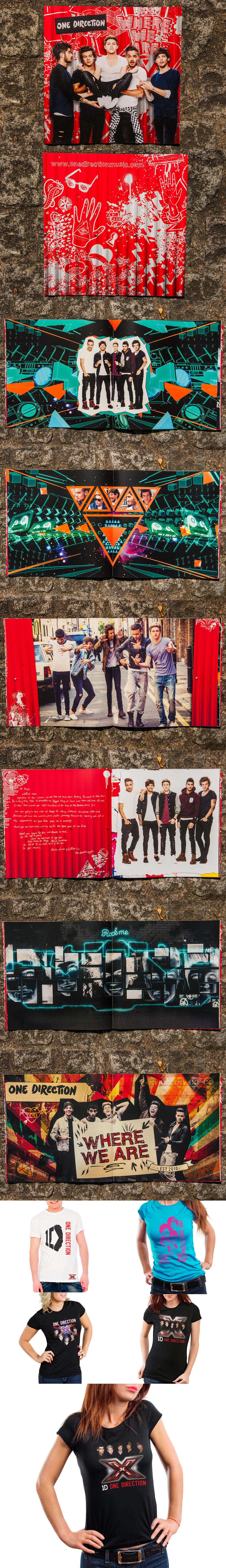 One Direction Tour Programme & Merchandise on Behance