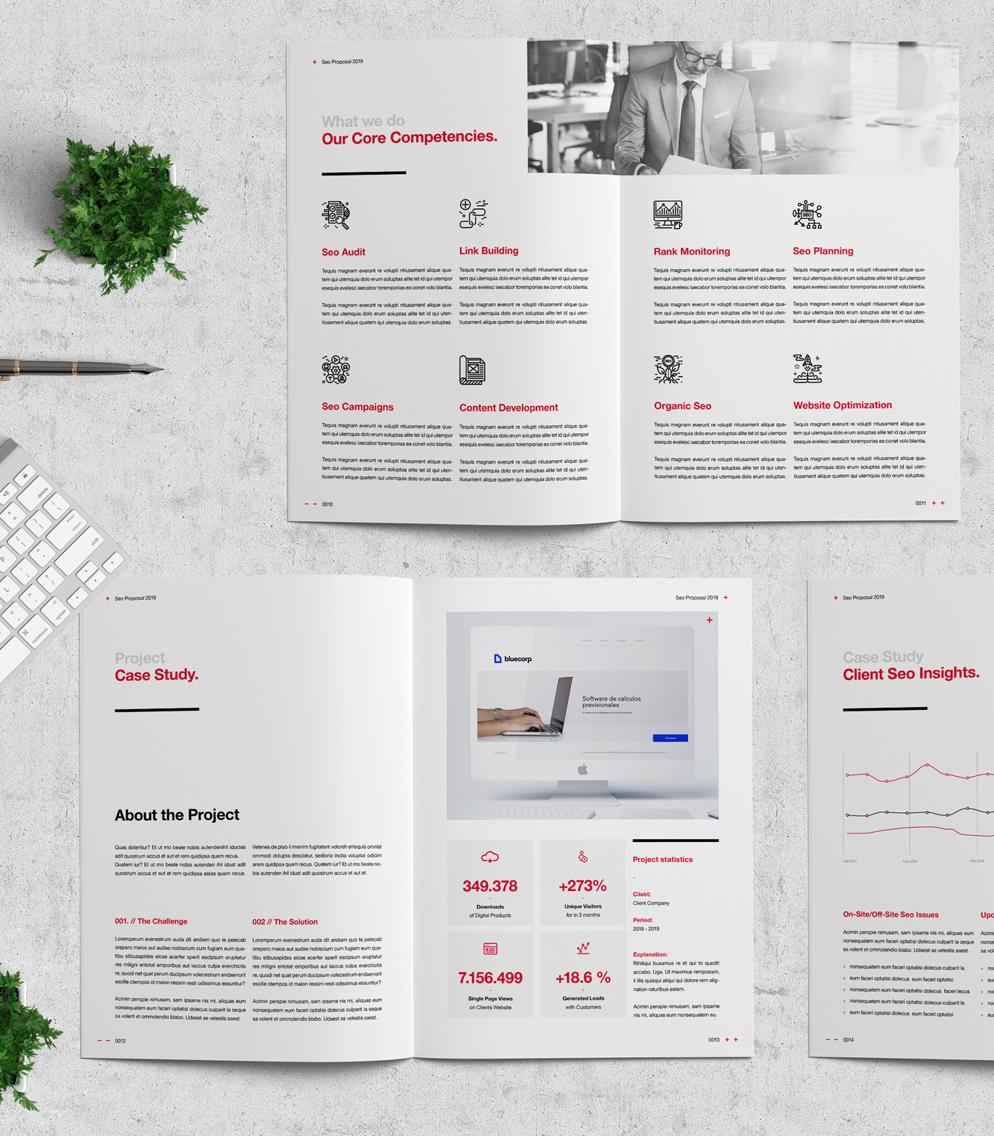 SEO Project Proposal on Behance