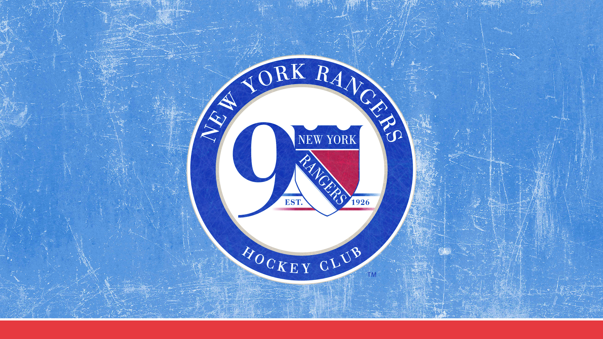 New York Rangers 90th Anniverary Wallpapers On Behance